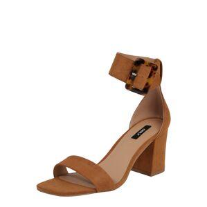 ONLY Remienkové sandále 'AMANDA'  koňaková
