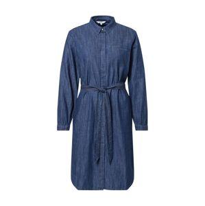 TOM TAILOR Košeľové šaty  modrá denim