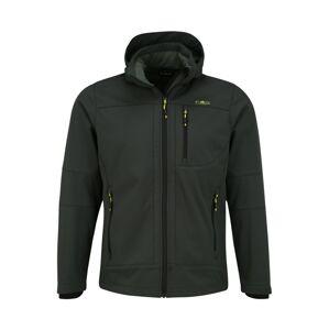 CMP Outdoorová bunda 'Zip Hood'  tmavozelená