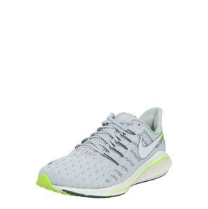 NIKE Bežecká obuv 'Air Zoom Vomero 14'  neónovo zelená / sivá