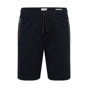 !Solid Nohavice 'Ron Zip'  čierna