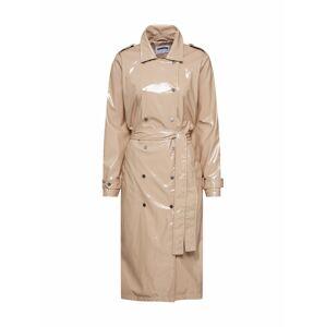 Noisy may Prechodný kabát 'JENNA'  krémová / béžová