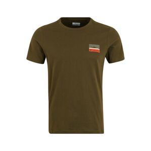 COLUMBIA Funkčné tričko 'Rapid Ridge'  olivová