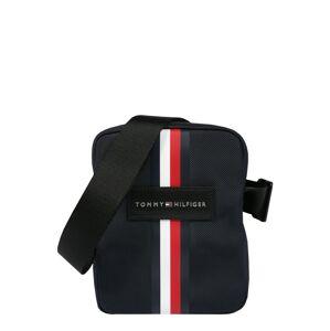 TOMMY HILFIGER Taška cez rameno 'UPTOWN'  modrá / tmavomodrá / biela / červená
