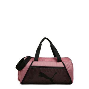 PUMA Športová taška  rosé / čierna