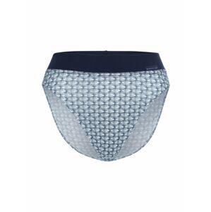 CALIDA Nohavičky  modrá / biela