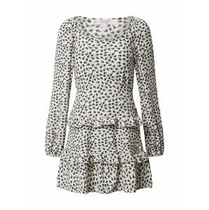 Miss Selfridge (Petite) Šaty 'FOCHETTE'  biela / čierna