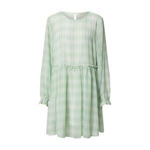 Love Copenhagen Šaty 'Edwina'  biela / svetlozelená
