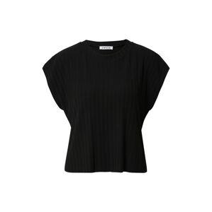 EDITED Tričko 'Mathea'  čierna