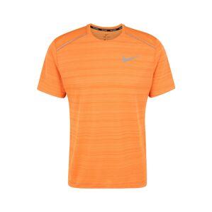 NIKE Funkčné tričko 'Dry Miller'  oranžová