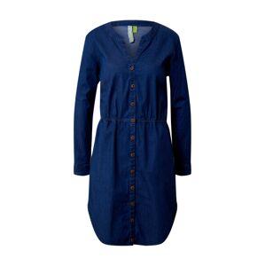 Alife and Kickin Košeľové šaty 'HannahAK'  tmavomodrá / modrá denim