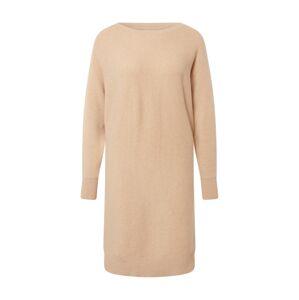 Noisy may Pletené šaty  béžová