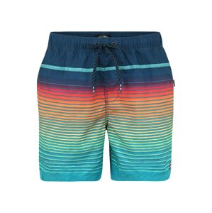 BILLABONG Surferské šortky 'all day stripe lb'  námornícka modrá / ružová