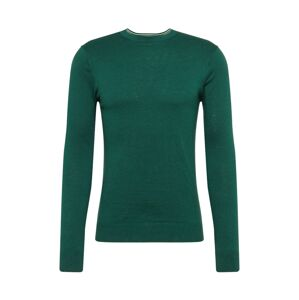SCOTCH & SODA Sveter 'Ams Blauw cotton cashmere crew neck pull'  tmavozelená