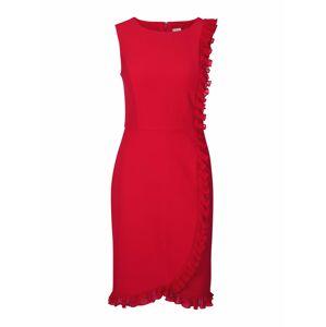 heine Kokteilové šaty  červená