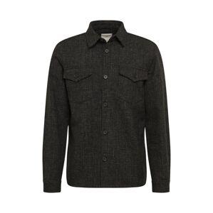 minimum Prechodná bunda  čierna / sivá