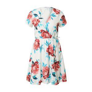 Hailys Letné šaty 'Sina'  biela / červená / svetlomodrá / ružová