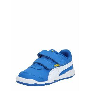 PUMA Športová obuv 'Stepfleex 2 SL VE V Inf'  biela / žltá / modrá