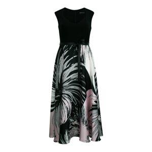 SWING Curve Šaty  ružová / čierna