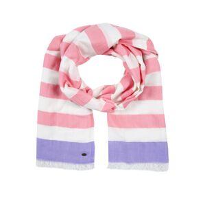 ESPRIT Šál  ružová / biela / fialová