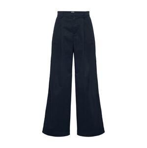 GAP Plisované nohavice  čierna