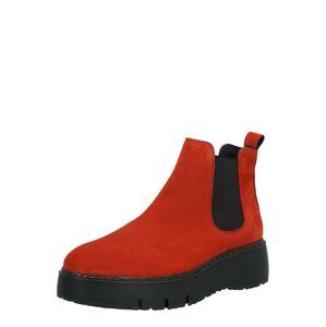 Paul Green Chelsea čižmy  červená