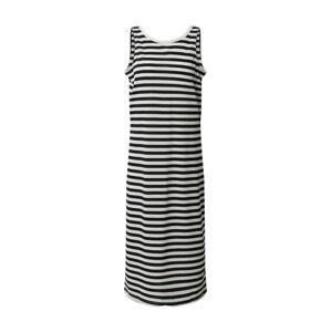 ONLY Letné šaty 'SANDY'  námornícka modrá / šedobiela