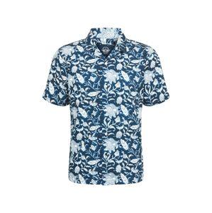 Dockers Košeľa  námornícka modrá / biela