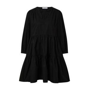 EDITED Šaty 'Valencia'  čierna