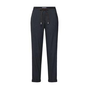 BRAX Plisované nohavice 'Monacos'  antracitová