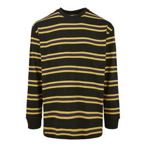 Urban Classics Tričko  žltá / čierna
