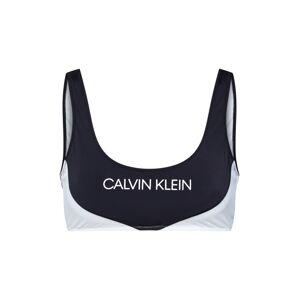 Calvin Klein Swimwear Bikinový top 'BRALETTE'  čierna