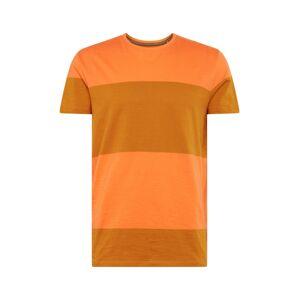 ESPRIT Tričko  horčicová / oranžovo červená