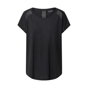ESPRIT SPORT Funkčné tričko  čierna