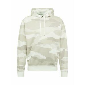 Nike Sportswear Mikina  biela / svetlosivá