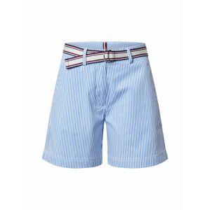 TOMMY HILFIGER Nohavice  biela / modrá