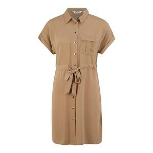 Dorothy Perkins (Petite) Košeľové šaty  hnedá