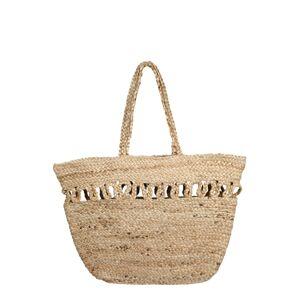 PIECES Shopper 'AMILIA JUTE'  béžová