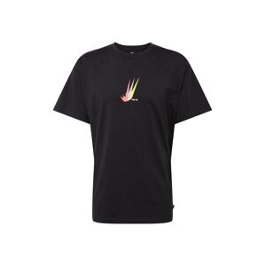 Nike SB Tričko  svetlomodrá / svetložltá / čierna / ružová