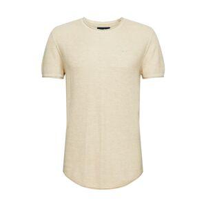 HOLLISTER Tričko 'SOLID'  krémová