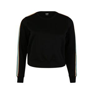 Urban Classics Mikina  zmiešané farby / čierna