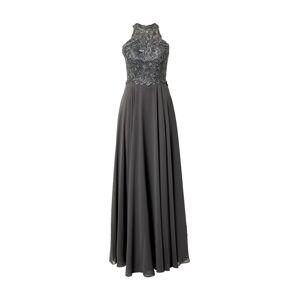 LUXUAR Večerné šaty  sivá