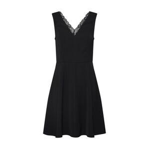 VERO MODA Kokteilové šaty 'ROSA'  čierna