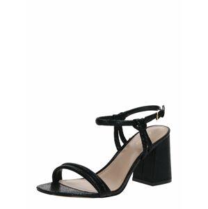 ALDO Remienkové sandále 'JERUNDRA'  čierna