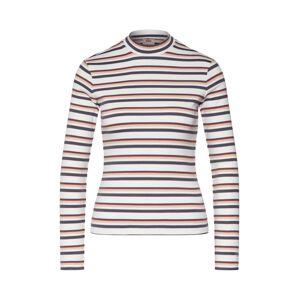 LEVI'S Tričko 'PENNY MOCKNECK'  biela / zmiešané farby