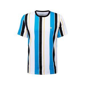 GUESS Tričko  námornícka modrá / modrá / biela / žltá