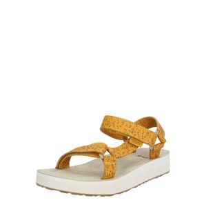 TEVA Sandále 'Midform Universal Star Sandal Womens'  horčicová