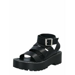 Public Desire Remienkové sandále 'TRIX'  čierna