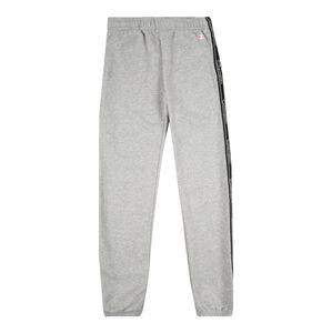 Champion Authentic Athletic Apparel Nohavice  sivá melírovaná / čierna / biela