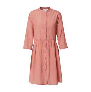 SAINT TROPEZ Košeľové šaty 'Carol'  oranžovo červená
